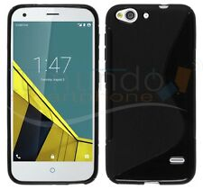 COVER of GEL TPU S-LINE BLACK for VODAFONE SMART ULTRA 6 in SPAIN case