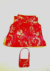"""Teddy Bear CHINESE CHEONGSAM Outfit CLOTHES Fit 14""""-18"""" Build-a-bear !!NEW!!"""