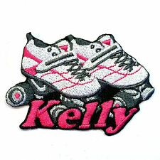 Iron-on Roller Skates Patch With Name Personalized Free