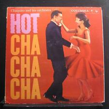 Chaquito And His Orchestra - Hot Cha Cha Cha LP VG+ CL 12936i 1st White Promo