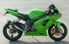 Kawasaki Zx6r 03-04 Sp de ingeniería de fibra de carbono Stubby Moto Gp De Escape