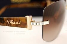 Brand New Chopard Sunglasses SCH 937S 300X Gold/Brown For Women 100% Authentic