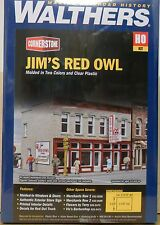 Walthers Cornerstone - HO Scale Kit - Jim's Red Owl
