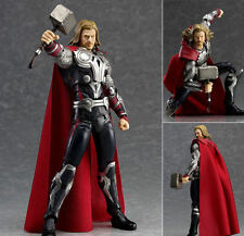 Marvel Avengers Super Hero Thor PVC Anime Action Figure Toy Doll With Box 16CM