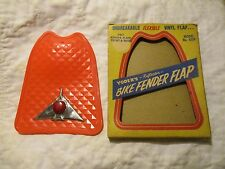VINTAGE NOS YODER IN BOX BICYCLE FENDER REFLECTOR WITH CHROME WINGS REAR FLAP