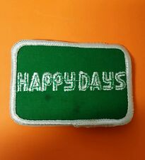 VINTAGE HAPPY DAYS GREEN/WHITE PATCH