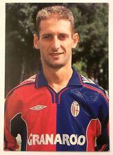 Cartolina Bologna Calcio 2000-01 Marcello Castellini