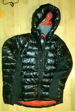 CANADA GOOSE Men's Hybridge Lite Down Hooded (Hoody) Jacket, XL, BLACK & RED
