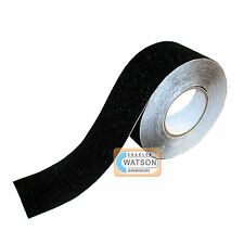 75mm x 5m Black ANTI SLIP TAPE High Grip Adhesive Sticky Backed Non Slip Safety
