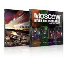 """KEITH EMERSON """"2IN1-KEITH EMERSON BAND & MOSCOW """" 2 CD NEU"""