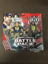 WWE Mattel Battle Packs 43 43.5 Raw John Cena Smackdown Seth Rollins SHIELD RARE