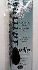 Tatting Needle  Size 0-0  Includes Basic Instructions & Pattern