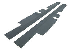 Mercedes W110 W111 W112 Grey Inner Door Sill Rubber Mat Set 2 Pcs New