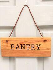 Pantry SEGNO IN LEGNO DA CUCINA ROVERE SHABBY CHIC COUNTRY COTTAGE Fattoria RUSTIC