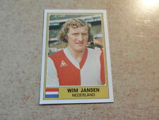 original PANINI STICKERS EURO FOOTBALL 76 1976 Wim JANSEN (Nr 201)