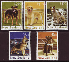 NEW ZEALAND 2006 YEAR OF THE DOG SET OF 5 UNMOUNTED MINT