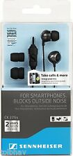 Sennheiser CX 275 s Universal Mobile Headset mic (Black) for Tablets Smartphones