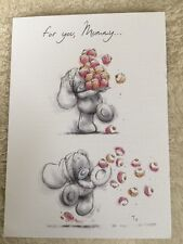 """Mummy"" Me To You Tatty Teddy Sketchbook Mothers Day Card From 99P"