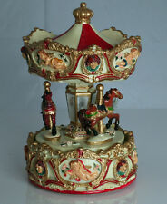 CLOWN AND CUPID TRADITIONAL  MUSICAL CAROUSEL  PLAYS 'BE A CLOWN'