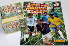 Panini road to fifa world cup 2002-Display Box 50 pochettes packets + album