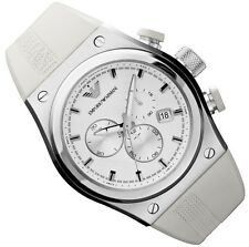EMPORIO ARMANI MEN'S CHRONO WATCH AR6103  -  BRAND NEW WITH CERTIFICATE