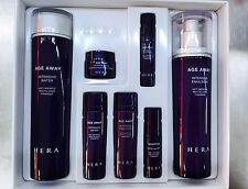 HERA Age Away Gift Set  Travel 2 Pcs Intensive  Water, Emulsion With Tracking No