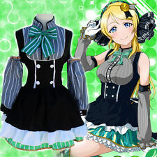 Japan Anime Love Live! Ayase Eli Cosplay Costumes Lolita Girls Fancy Maid Dress