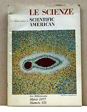 LE SCIENZE - edizione italiana di SCIENTIFIC AMERICAN [rivista, marzo 1977, 103]