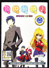 *NEW* TORADORA *25 EPISODES*ENGLISH SUBTITLES*ANIME DVD*US SELLER*FREE SHIPPING*