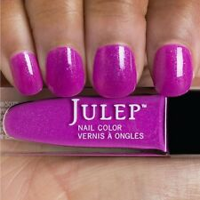 NEW! Julep nail polish in FLORA Nail Vernis Exotic dragonfruit with blue shimmer