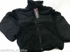 X-LARGE LONG SPEAR LEP Layer 4 Fleece Jacket 300 Classic Polartec BLACK New