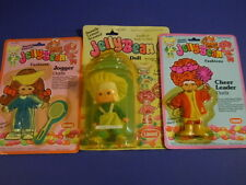 VINTAGE HK LANARD JELLYBEAN LUCY LEMON DOLL+ CHEER LEADER & JOGGER OUTFITS FAB
