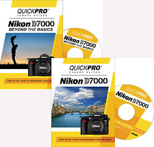 QUICKPro Training DVD Nikon D7000 Set - NEW  Free US Shipping