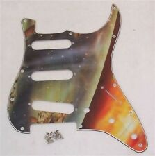 CUSTOM ARTWORK SCRATCHPLATE FOR FENDER STRAT/PG67