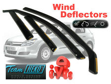 Opel VAUXHALL Astra H MK 5 2005-2009 ESTATE Wind deflectors 4 pcs (25370)