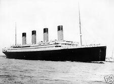 Bateau Paquebot Le Titanic - tirage repro photo ancienne