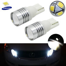 HID Matching White T10 LED Bulbs For Car Parking Positon Lights 168 194 2825 W5W