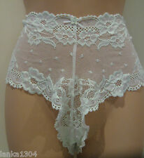 M&S Lime Green Lace Knickers Under Wear Panties (NEW) UK size 16