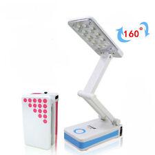 Lampada da Tavolo Luce Ricaricabile 18 Led LED-685 Pieghevole Scrivania hsb