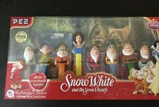 Pez - Snow White and the Seven Dwarfs - Boxed Collector's Set of 8 - NIB