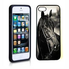 Horse Rubber Skin Soft Case TPU Cover For iphone 5 5S