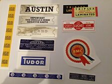 Austin A40 Engine Bay Sticker Pack - Everything you need for a 60s Austin Farina