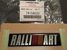 JDM OEM Universal Mitsubishi Ralliart Decal Badge Genuine Logo Sticker Lancer