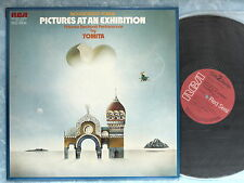 ISAO TOMITA Pictures At An Exhibition Moussorgsky SRA-2972 JAPAN LP 069az33