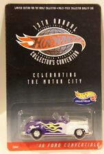 2000 Hot Wheels 13th Convention Dearborn, Mi '46 Ford Convertible Real Riders