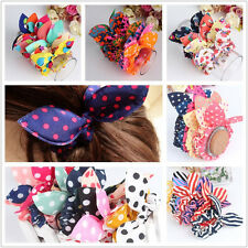 10pcs color random Women Girl PonyTail Elastic Hair Rubber headband Bands Rope