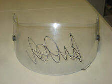 VALENTINO ROSSI HAND SIGNED CLEAR VISOR BRAND NEW UNFRAMED + PHOTO PROOF C.O.A