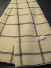 NEW Pendleton Eco-Wise Machine Washable LL Bean Wool 90 x 90 Queen Bed Blanket
