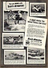 1952 Vintage Ad Scott-Atwater Shift Outboard Motors Minneapolis,MN
