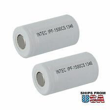 2PC 2/3A 1.2V 600mAh Sanyo Intec NiCD Battery KR600AE fit GP70AFK FAST USA SHIP